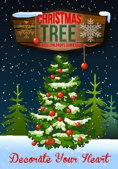 church, ministri idea, christma curriculum, christma tree, christma lesson