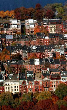Boston,  Massachusetts - historic district♥