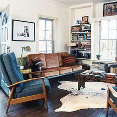 Cowboy Modern Cottage | Living Room | SouthernLiving.com