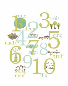 french numbers <3