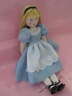 RESERVED FOR  LAUREN,  Alice, an Edith Flack Ackley pattern doll