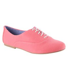 pink oxfords