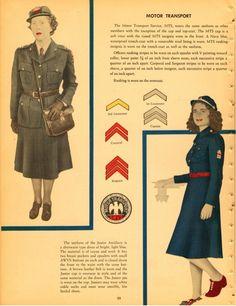 WW2 MTS (Motor Transport Service) uniforms ~