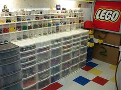 Awesome LEGO Room!