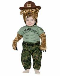 Baby Marine Corps Bulldog Costume