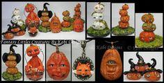 Pumpkins, Fox and More handmade Polymer Clay by KabiDesigns on deviantART