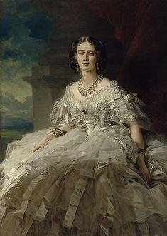 Princess Tatiana Alexandrovna Yusupova; by Franz Xaver Winterhalter, c. 1858.