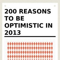 Infographic: 200 reasons to be optimistic in 2013 | infogr.am