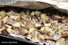 Cheesy Potato Recipe BBQ Summer Picnic
