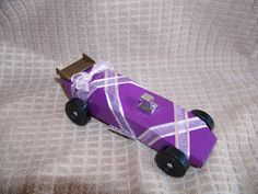 Ballet Slipper Pinewood Derby Car