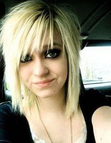 medium length hairstyles, blondes, emo hairstyles, sorry hair styles, medium length haircuts, alternative hair, bang, medium emo hair, emo hair medium