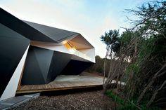 Australian studio McBride Charles Ryan has designed the Klein Bottle House.