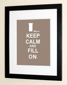 Keep Calm And Fill On  Pharmacist Gifts  Gifts & by theScholarShop, $15.00