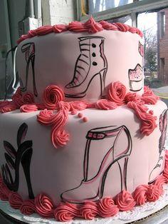 shoe lover cake by Karen Portaleo/ Highland Bakery, via Flickr