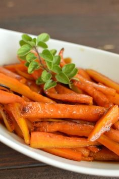 Maple Glazed Carrots are as delicious as they are gorgeous! | Little Dairy on the Prairie