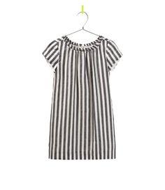 Image 1 of VERTICAL STRIPE DRESS from Zara