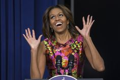 Moochelle Obama.  One of the 3 people banned from Joan Rivers' funeral.  (I never thought Joan had good taste before now.........HAHAHAHA!)
