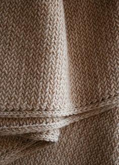 herringbone scarf tutorial