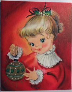 1950s Hallmark Christmas Card