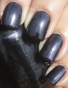 OPI - Light my Sapphire (Night Brights Collection—Summer 2007)