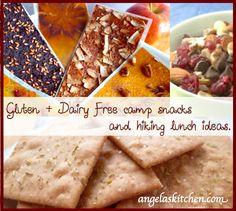 healthy snacks, camping foods, gluten free snacks, snack idea