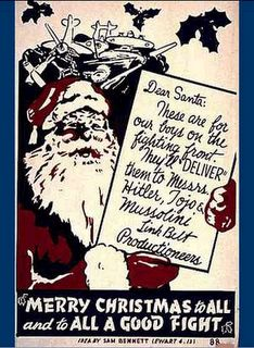 Christmas Card, WWII