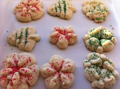 christmas cookie recipes, cooki press, cookie press, food, butter, favorit recip, gluten free, cookies, gf cooki