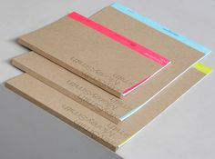 cartlidg leven, graphic design, notebook, folder set, paper, colors, neon, graphicdesign, book covers