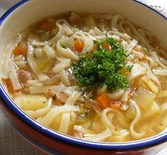 "Chicken Noodle Soup: ""This fool-proof recipe is delicious. I usually make a huge batch and freeze individual portions for later."" —Redheaded Chef"