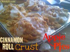 Cinnamon Crust Apple Pies!