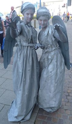 Weeping Angels from Doctor Who!