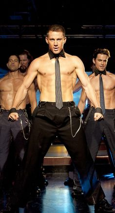 Channing Tatum....but with this picture, let's just go ahead and add all the cast of 'Magic Mike' ;)