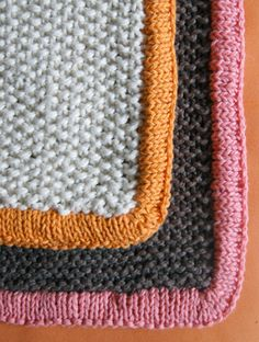 knit blanket from Purl Bee