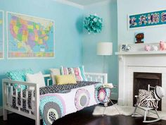 Accent Wall - Eclectic Teen Rooms on HGTV