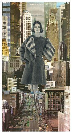 Collage artist Sammy Slabbinck