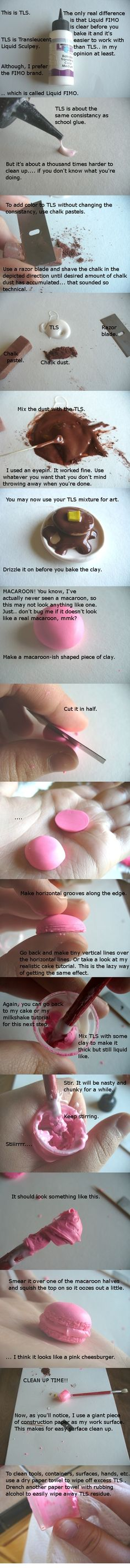 TLS Polymer Clay Tutorial by ~paperfaceparade on deviantART