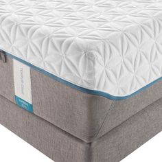 The extra-pillowy softness and super-adaptive support of TEMPUR-Cloud® Supreme comes from more exclusive TEMPUR® material. The innovative moisture-wicking, cool-to-the-touch SmartClimate™ System keeps you comfortable, while the EasyRefresh™ Top Cover is simple to remove, wash and replace #sleephappens #mattresswarehouse #tempurpedic