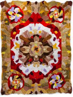 rug made from teddy bears