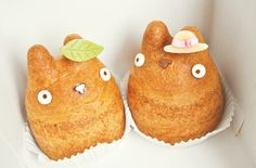 Pastry owls..cats? Interesting...  http://www.becomeapastrychef.com/ studio ghibli, weight loss, food, totoro, eat right, healthy recipes, pastri, dessert, birthday cakes