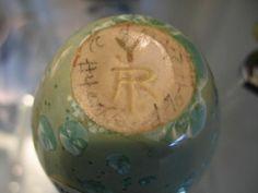 30: ADELAIDE ROBINEAU Cabinet vase covered in celadon : Lot 30