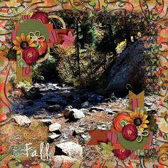 Helen Hunt Falls in Autumn