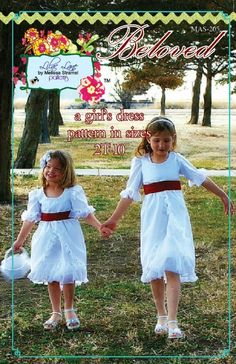 Beloved Dress PDF sewing pattern available at Fairytale Frocks & Lollipops.  #sewing