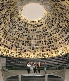Hall of Names of the murdered Jews, Yad Vashem.