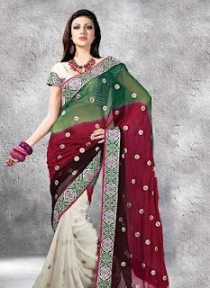 Rajasthani sarees – Vivacious shades of elaborated embroidery with choice of both modern and ethnic designs vivaci shade
