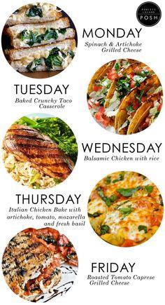 A few yummy dinner ideas...