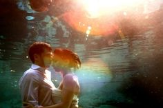 Janet + Ryan Cenote and Beach Trash the Dress