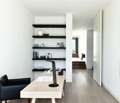 simple office via Est Magazine