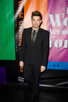Adam Lambert wows at the World Of Wonder's Wowie Awards on Dec. 12 in Universal City, Calif.