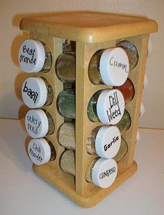 Vinyl Spices labels