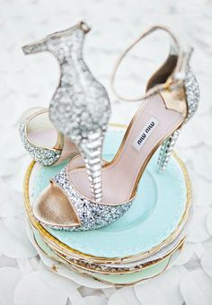 vintage china and beautiful shoes. a perfect pair.
